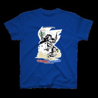 hassegawa empire strikes back. TYPE-DT GATLINGSLINGER Tシャツ