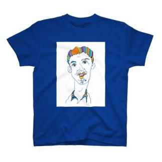 オッサン・スケッチ Tシャツ