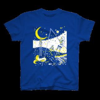 金星灯百貨店の銀河バケーション Tシャツ