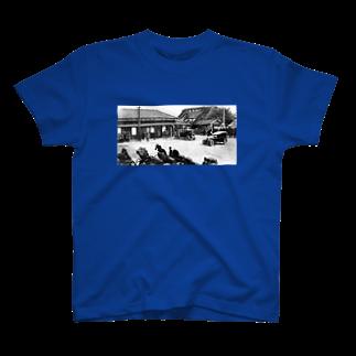 ふるさとグッズ販売にしふるかわ屋の西古川駅Tシャツ
