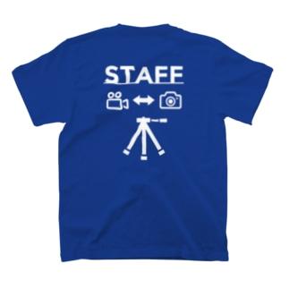 撮影スタッフ T-shirts