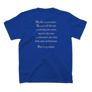 SRS#3 バックプリント T-shirts