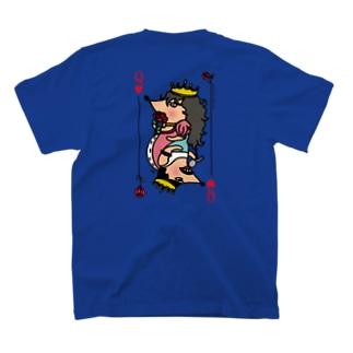 女王&女王_ロゴ白 T-shirts