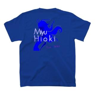 【推しメングッズ】TeamAOYAMA日置実結 Tシャツ T-shirts