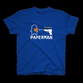 ペーパーマン公式SUZURIショップのHEARTBREAK T-shirts