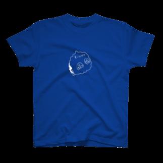Asteroidのわたあめペンギン(白しり) T-shirts