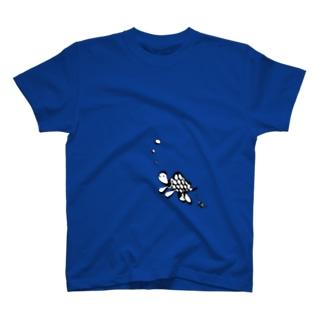 ぶくぶくかめ T-shirts