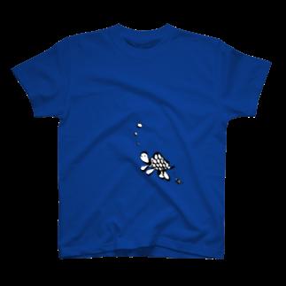 Judasshopのぶくぶくかめ T-shirts