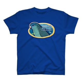 ダイビングショップ・さざなみ T-shirts