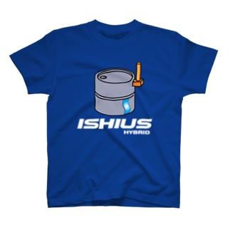 石臼 ハイブリット T-shirts