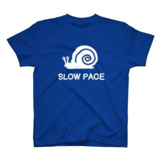 スローペース カタツムリ T-shirts