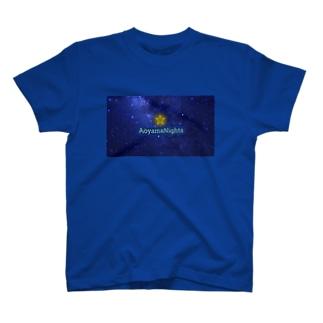 青山Nights®ビジネスロゴ T-shirts