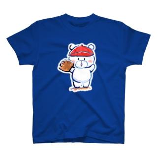 ピッチャーくまさん Tシャツ