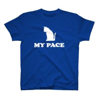 マイペース ネコ MY PACE CAT T-shirts