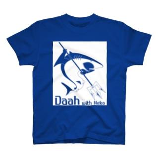 Shark_white_反転 T-shirts
