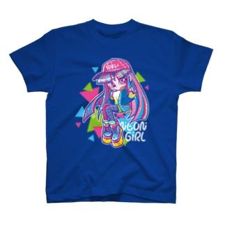 ネオンガール T-shirts