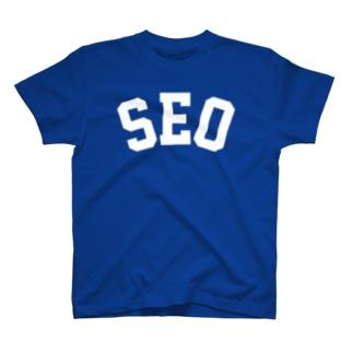 SEO(白) T-shirts