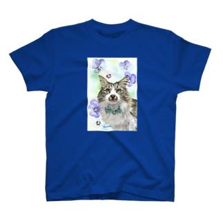 ノルウエージャンのモコちゃん T-shirts