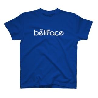 bellFace(白ロゴ) T-shirts