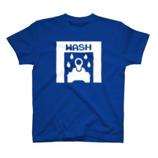 戦車の洗車機 T-shirts