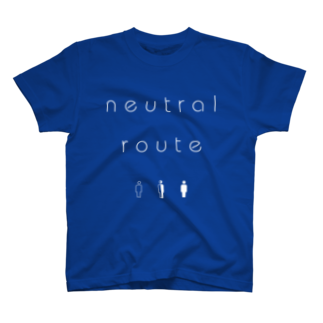 8garage SUZURI SHOPのneutral route [White] T-shirts