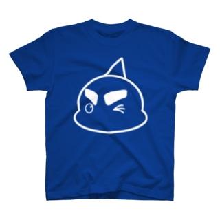 「ウィンク!」 #シャチくん Tシャツ