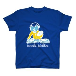 djlele文字白 T-shirts
