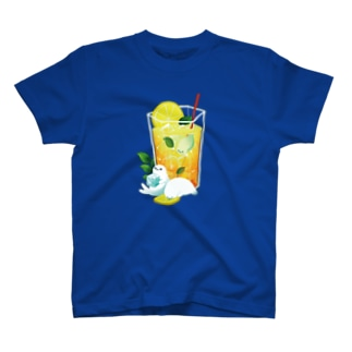 レモンティーアザラシTシャツ T-shirts