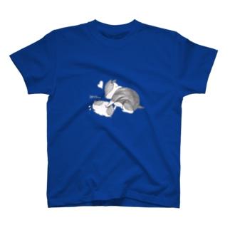 ハムルーとふー T-shirts
