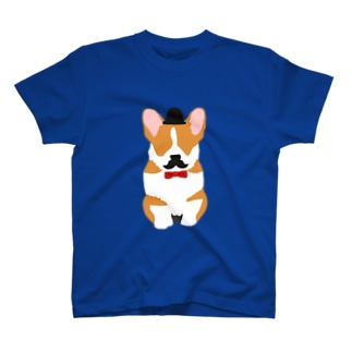 おひげのコーギー T-shirts