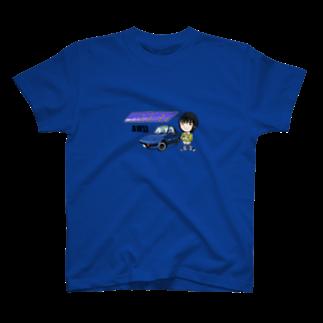 山口かつみのAW11涼子 T-shirts