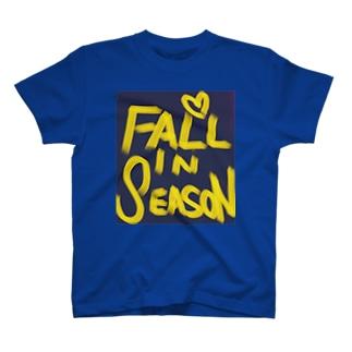 """FALL IN """"SEASON""""  T-shirts"""