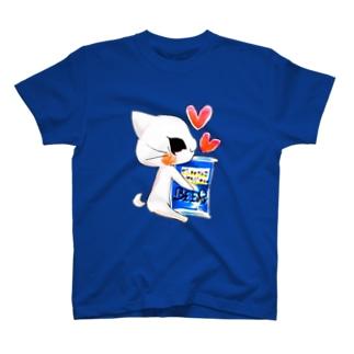 ビールねこ☆缶ビールver T-shirts