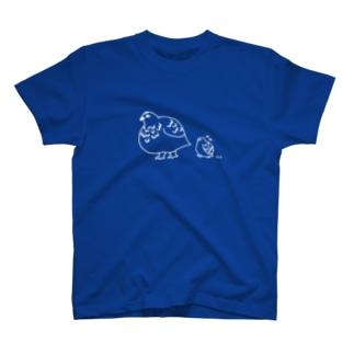ライチョウ親子TシャツNo.3 T-shirts