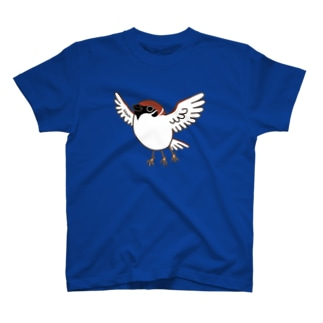 ヤタガラスシリーズ(スズメ) T-shirts