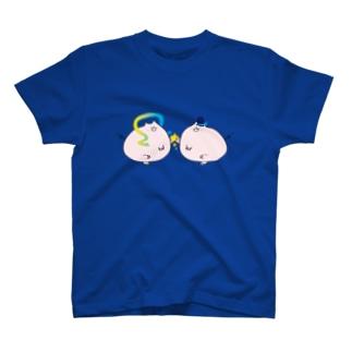 おりブタとひこブタ T-shirts