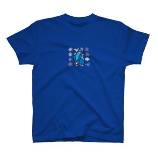 ブルーどないやモンキー T-shirts
