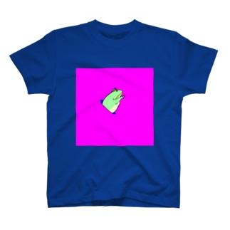 穴から座布団 T-shirts