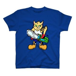 格ゲーネコ(='x'=) T-shirts