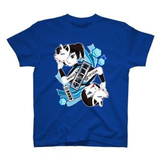 """""""霊璽洲譚守"""" Resistance T-shirts"""