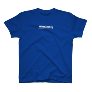 What's up ? Center Logo Tee Black 3 T-shirts