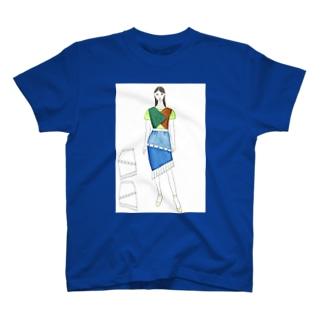 南の島のマーメイド T-shirts
