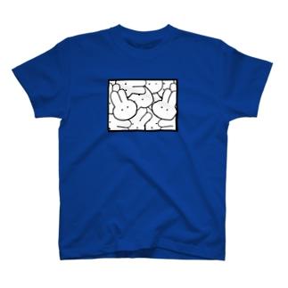 うさぎといきよう T-shirts