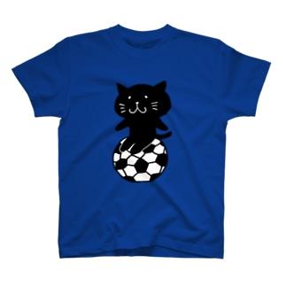 くろねこサッカー T-shirts