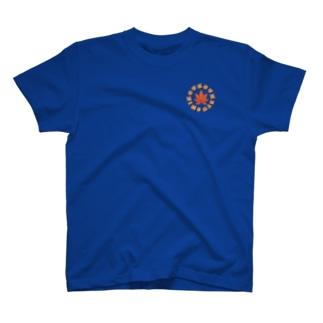 (背面ロゴ小有)Tシャツ もみじチーム名入りバージョン T-shirts