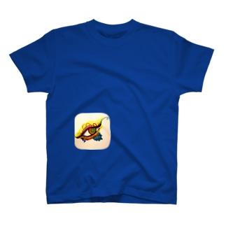 流し眼(アメッコ作) T-shirts