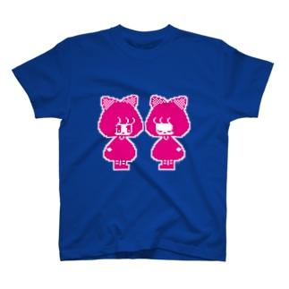 どっとおんなのこ T-shirts