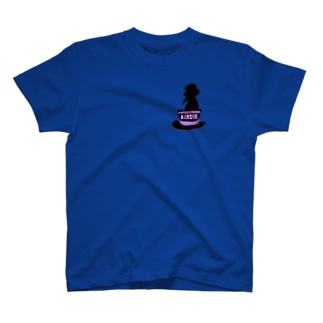 VIRTUAL AVENGER ロゴ&シルエット T-shirts