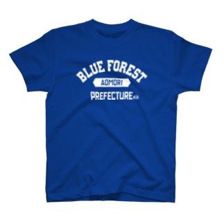 青森県 BLUE FOREST T-shirts