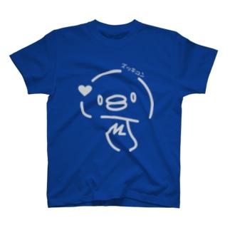 ズッキュンまつたけさん  LINEバージョン T-shirts